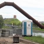 Petras Gražulis siūlo nukelti restauravimui ir surūdijusį Vilniaus vamzdį
