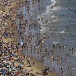 iš Ispanijos turistai bėgs į Baltijos jūros pakrantes