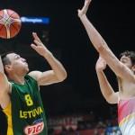 Krepšininkai į Lietuvą parveš sidabrą