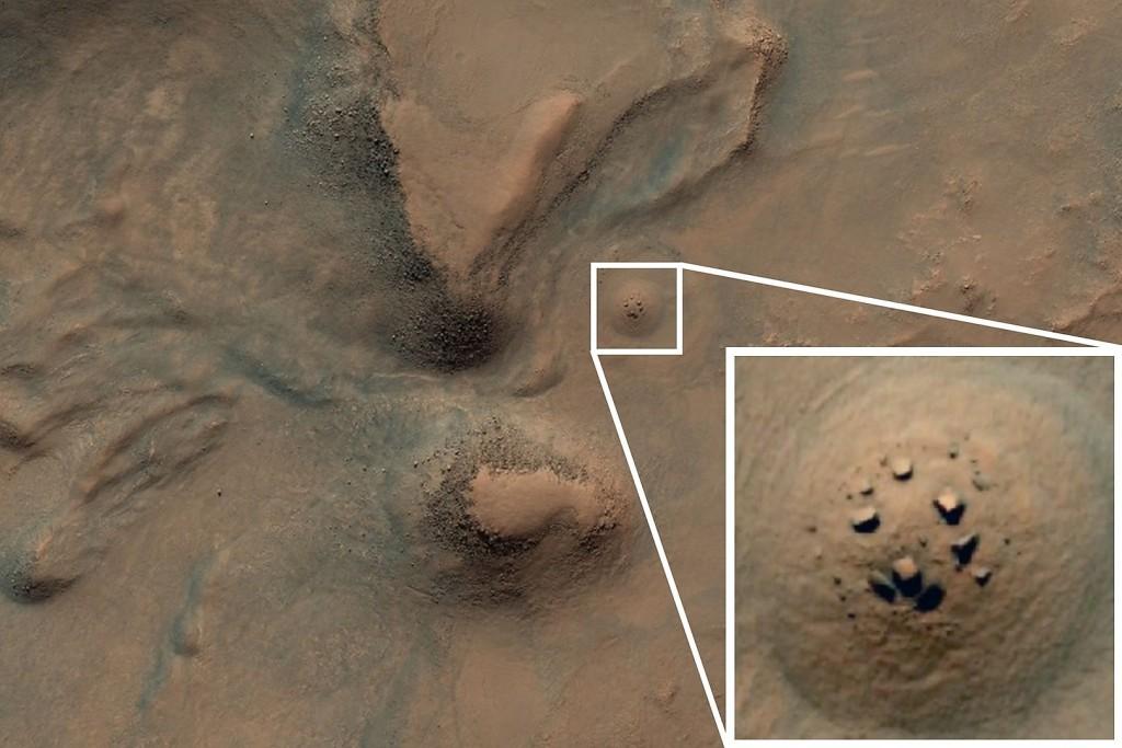 Marse rado Stounhendžą