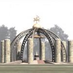 LIETUVOS VALSTYBĖS ATKŪRIMO 100-mečiui -monumentas