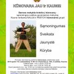 Sąmoningos sveikos gyvensenos mokyklos atidarymas Kaune