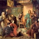 Kaip krikštijo mūsų protėvius