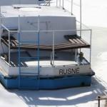 Prie Kuršių marių gyvenantys rusniškiai negali net užlipti ant ledo, nes gaus baudą