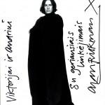 """Po """"Hario Poterio"""" žvaigždės mirties Andrius Mamontovas parodė lietuviškai rašytą Sneipo linkėjimą"""