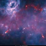 167 mln. pikselių raiškos Paukščių Tako galaktikos centro erdvėlapis