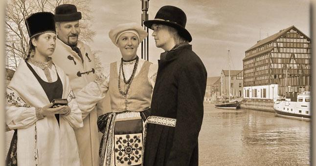 """TRADUCIJA. Lietuvininkų vestuvių epizodas. © Nuotraukos iš """"Aitvaro"""" archyvų. ve.lt"""