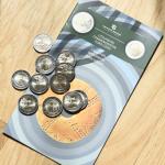 Gyventojų piniginėse – baltų simbolika paženklintos monetos