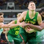 Lietuva įveikė olimpiados šeimininkus brazilus