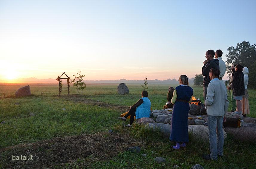 Rasų šventė. Saulėtekis. Foto A.S.