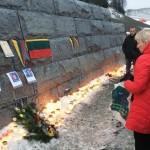 Norvegijoje pagerbti po žemės nuošliauža palaidoti lietuviai