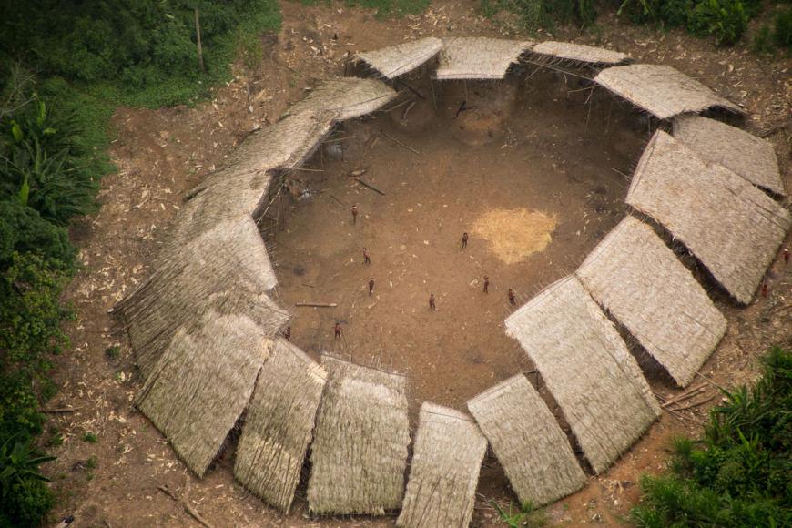 Guilherme Gnipper Trevisan/Hutukara nuotr. / Amazonės džiunglėse gyvenanti gentis