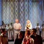 Tautinėmis juostomis išaustas jubiliejinis koncertas