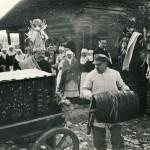 Tarpušvenčiu senajame Lietuvos kaime