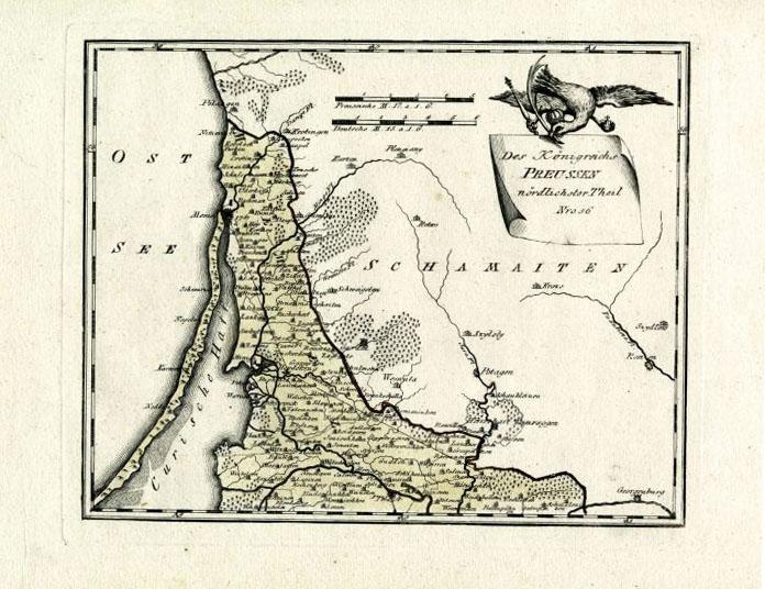 I.Simonaitytės bibliotekos nuotr. / I.Simonaitytės bibliotekoje bus eksponuojami senieji Prūsijos žemėlapiai.