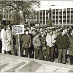 Sugniaužtas kauniečių kumštis pramušė sieną į Lietuvos laisvę