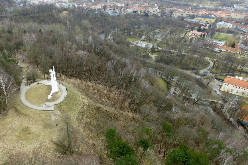Luko Balandžio / 15min nuotr. / Trijų kryžių kalnas