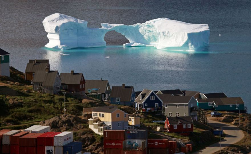 """Reuters""/""Scanpix"" nuotr. / Nykstantys Grenlandijos ledynai"