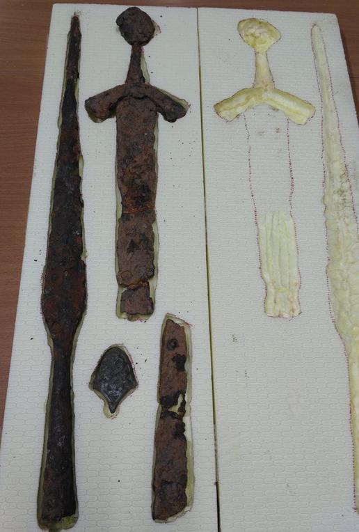 Muitinės departamento nuotr./Sulaikytos archeologinės vertybės