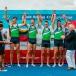 Lietuvos irkluotojai pasaulio čempionate iškovojo istorinį auksą