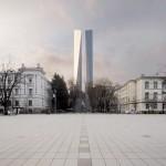 Architekto A.Ambraso vizija: 45 m obeliskas – Aukų gatvėje, o ne Lukiškių aikštėje