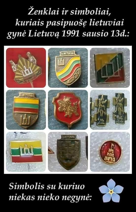 Lietuvos gyneju simboliai