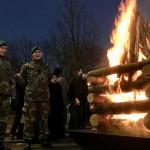 Vilniaus Gedimino prospekte suliepsnojo 70 laužų