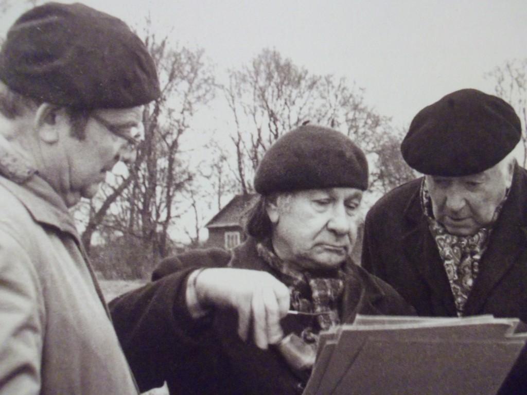 guobis-lasavickis-Sigitas Lasavickas tarp kolegų